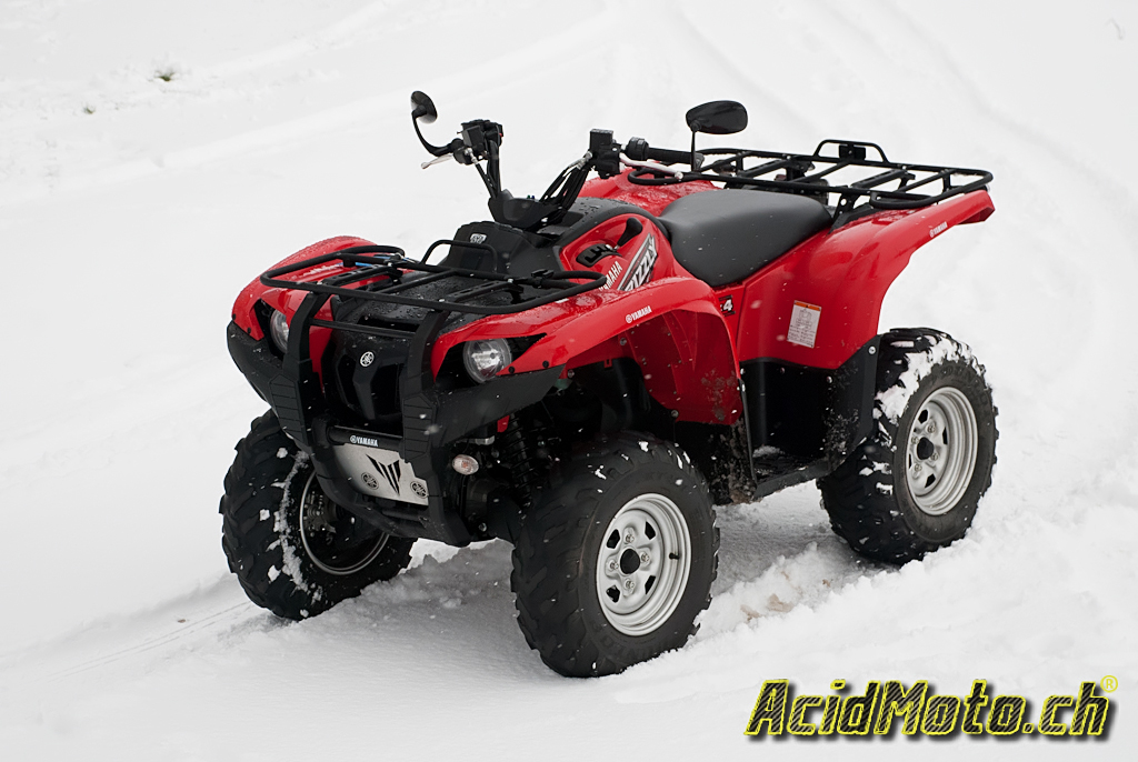 yamaha grizzly 700 holiday on snow le. Black Bedroom Furniture Sets. Home Design Ideas