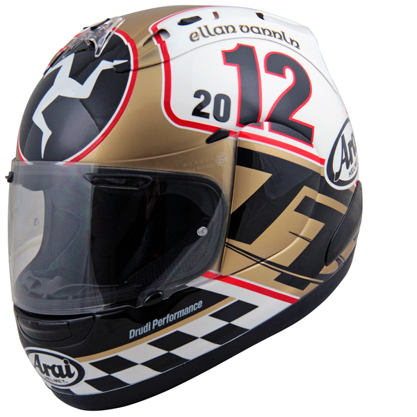 arai rx 7 gp edition tt 2012 le site suisse de l 39 information moto. Black Bedroom Furniture Sets. Home Design Ideas