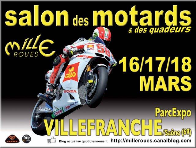 Salon de la moto mille roues 2012 au parcexpo de - Salon de l habitat villefranche sur saone ...
