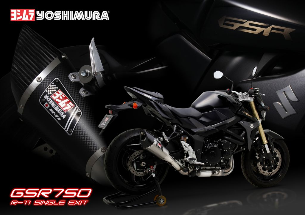 yoshimura donne de la voix la suzuki gsr750 avec son mod le r11 le site suisse. Black Bedroom Furniture Sets. Home Design Ideas