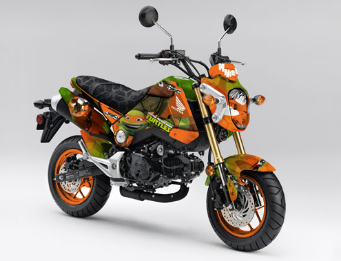 des honda grom msx125 version tortues ninja