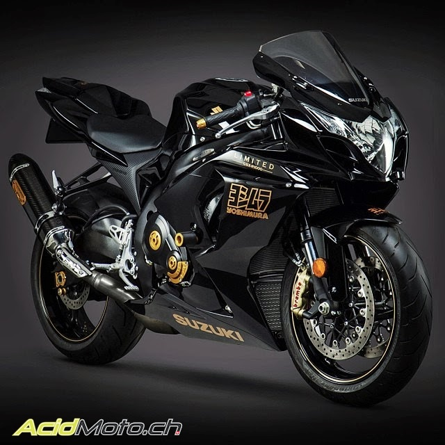 suzuki gsx r 2014 yoshimura r d edition limited made in. Black Bedroom Furniture Sets. Home Design Ideas