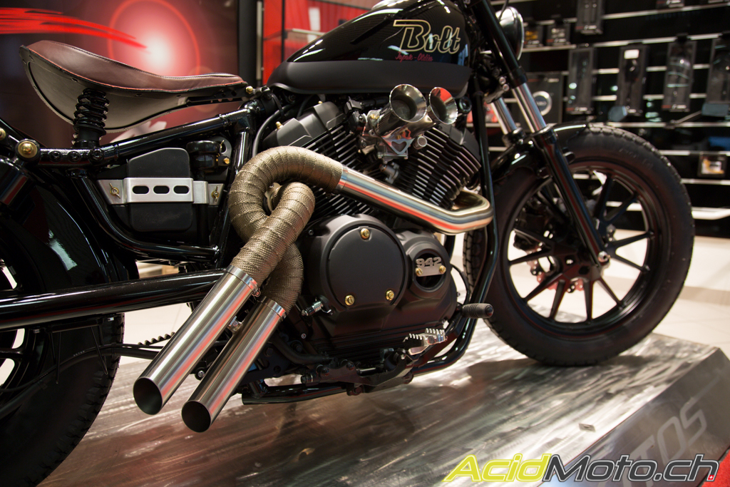 yamaha bolt 942 by badan motos une xv950r fa on bobber le site suisse de l. Black Bedroom Furniture Sets. Home Design Ideas