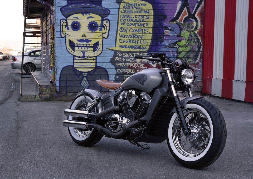 tuning moto bobber