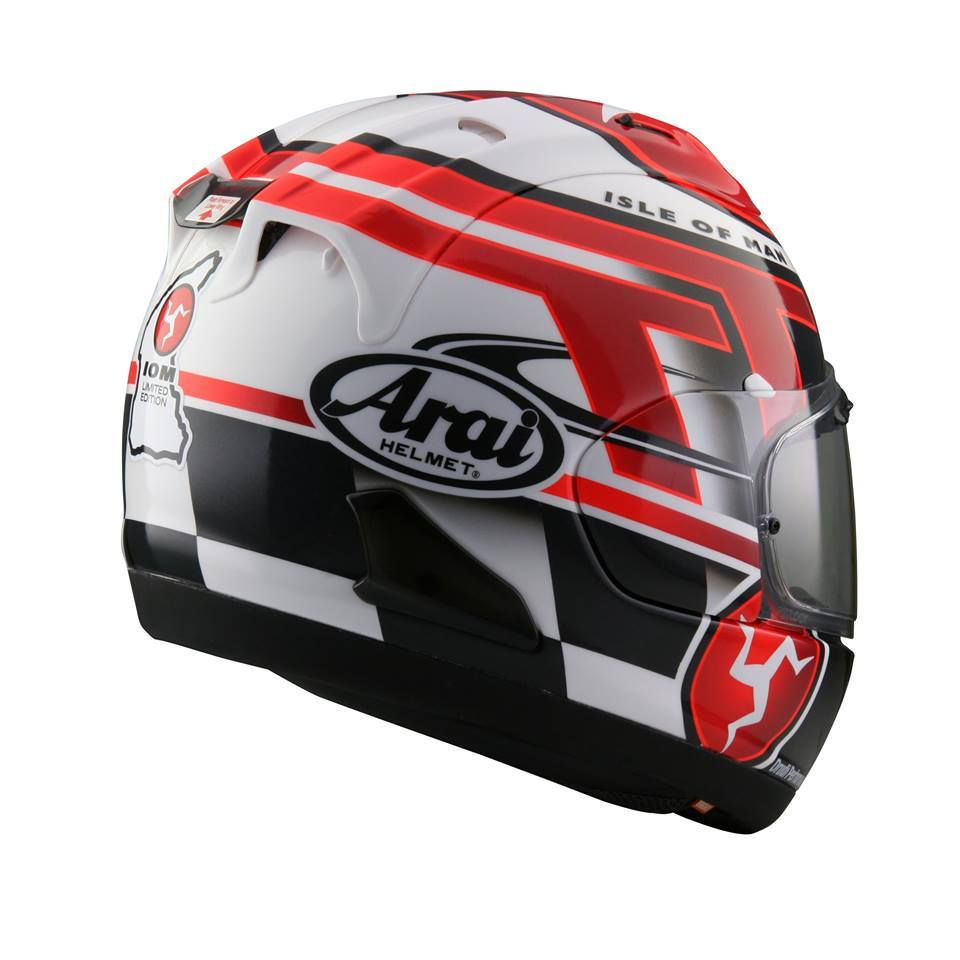 casque arai rx 7v iom tt 2016 edition limit e 100 pi ces pour la suisse le. Black Bedroom Furniture Sets. Home Design Ideas