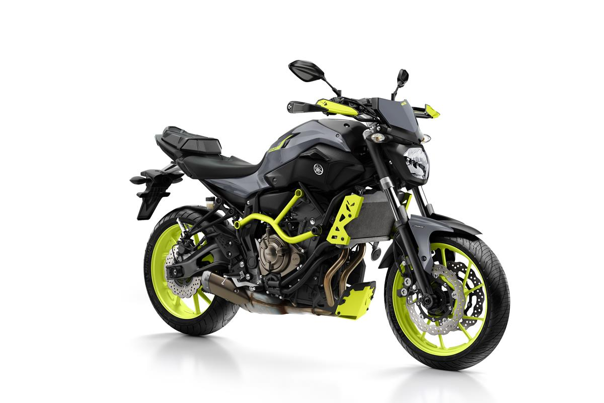 nouveau coloris night fluo pour la yamaha mt 07 moto cage 2016 le site suisse de. Black Bedroom Furniture Sets. Home Design Ideas