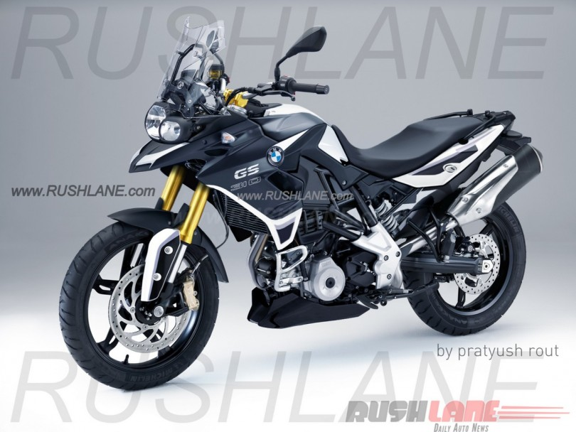 bmw f310 gs une d clinaison aventuri re du roadster g310 r confirm e par bmw le. Black Bedroom Furniture Sets. Home Design Ideas