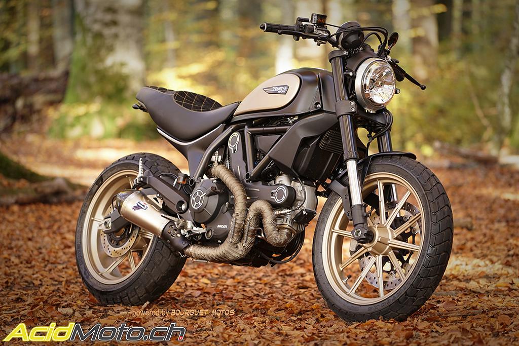 Ducati Scrambler Icon Tuning