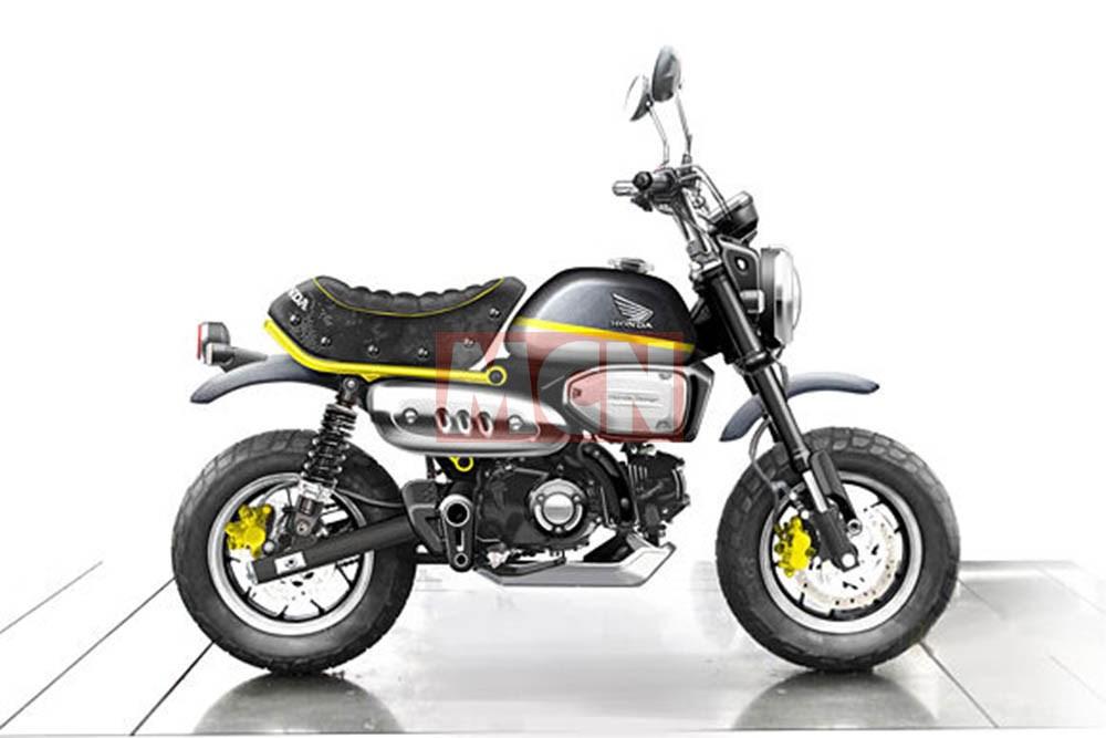 moto honda monkey 125