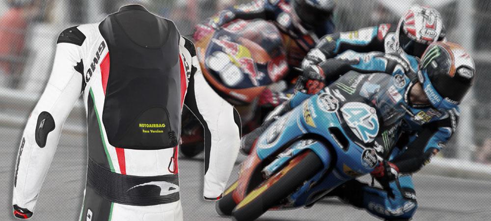motoairbag race pour une s curit accrue sur la piste le site suisse de l. Black Bedroom Furniture Sets. Home Design Ideas
