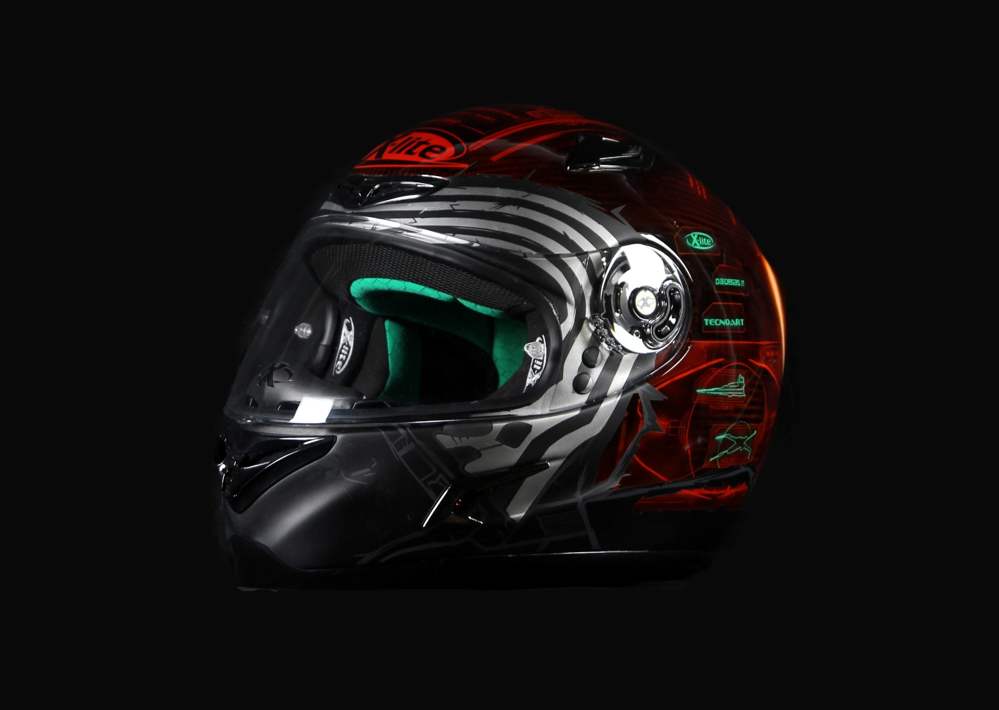 casque x lite x 802 rr replica kylo ren le c t obscur de la force sur votre t te acidmoto. Black Bedroom Furniture Sets. Home Design Ideas
