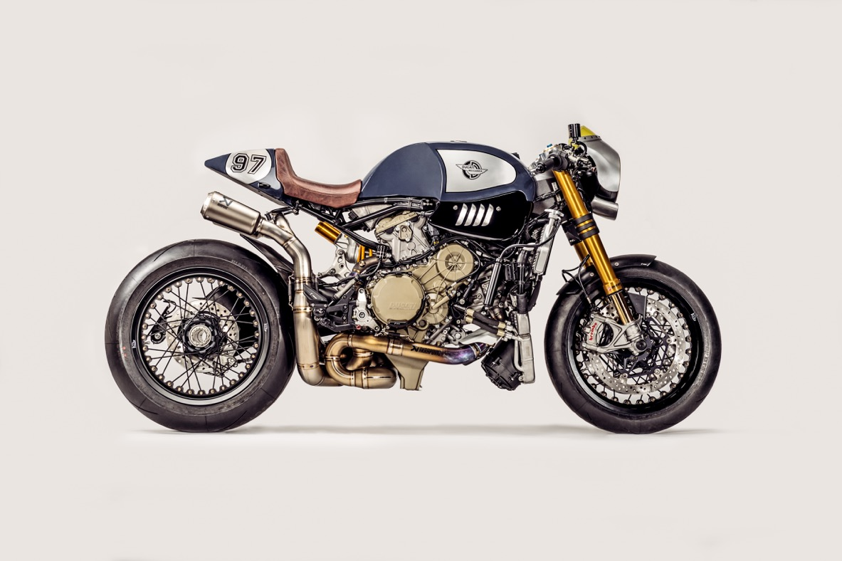 Ducati Panigale R The Blue Shark Le Cafe Racer Ultime