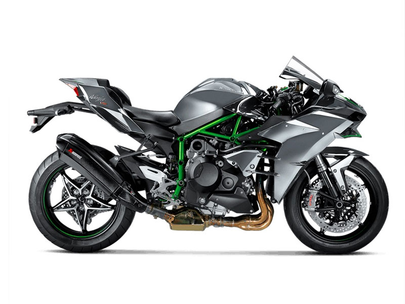 le nouveau silencieux akrapovic pour la kawasaki ninja h2 le site suisse de l. Black Bedroom Furniture Sets. Home Design Ideas