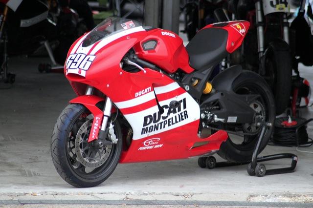 La Monster 696 Coursifiee Du Ducati Store De Montpellier Acidmoto