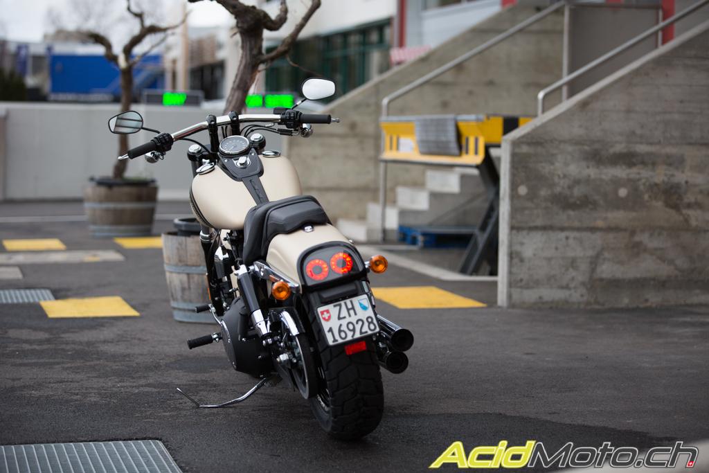 Harley Davidson Dyna Essai