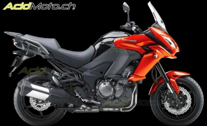 2015 Honda Xr650L >> Kawasaki Versys 1000 et Versys 650 2015 - Des lignes plus ...