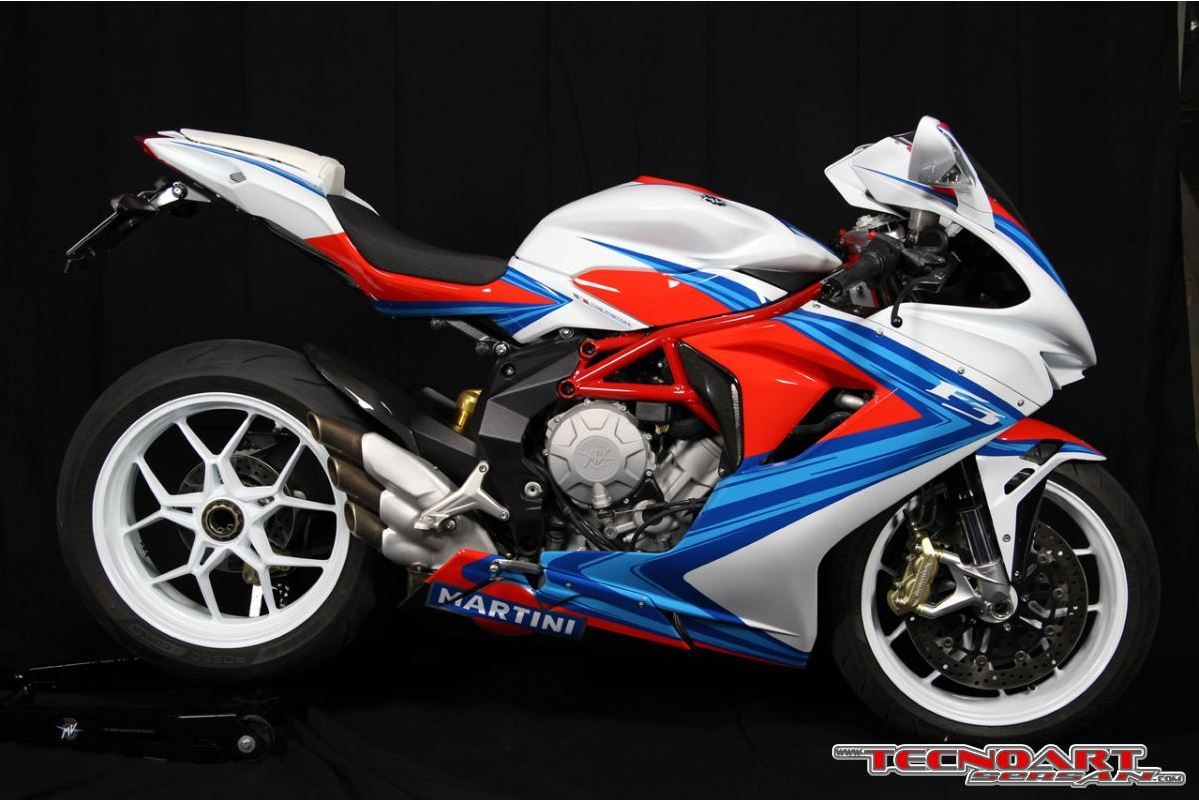 Mv Agusta F3 Martini Racing By Tecnoart Sersan 187 Acidmoto