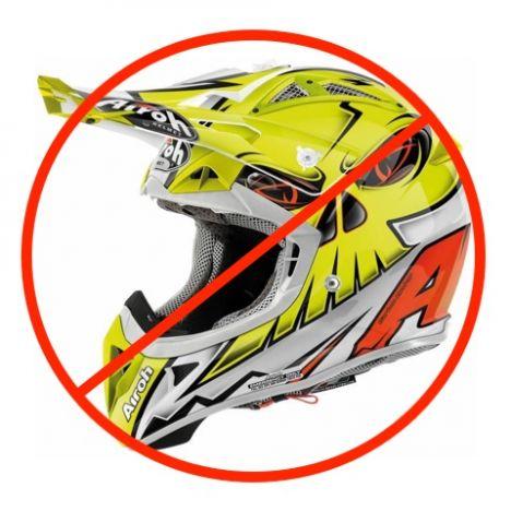 la f d ration fran aise de motocyclisme interdit l 39 usage des casques de type tout terrain sur. Black Bedroom Furniture Sets. Home Design Ideas