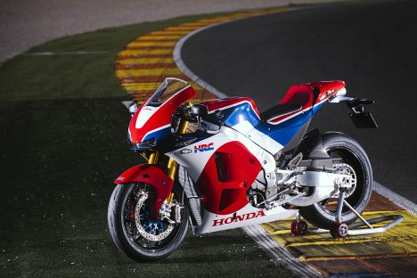 Honda RC213V-S Valencia Press Test