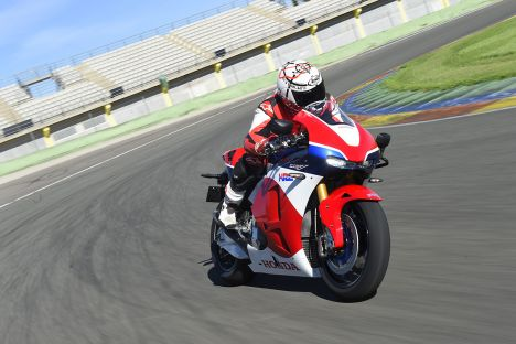 Honda RC213V-S Valencia Press Test Carrozza