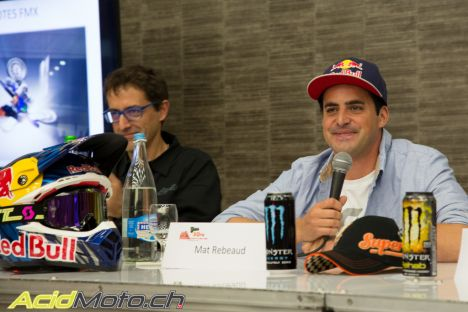 Monster energy Supercross International de Genève - Mat Rebeaud