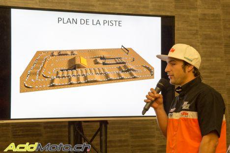 Monster energy Supercross International de Genève - Piste
