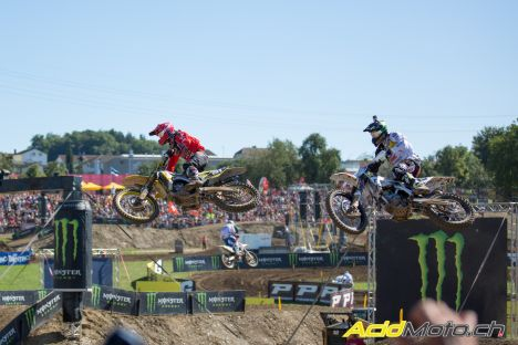 MXGP of Switzerland 2016 mx2 race 2 greg anstie jeremy seewer