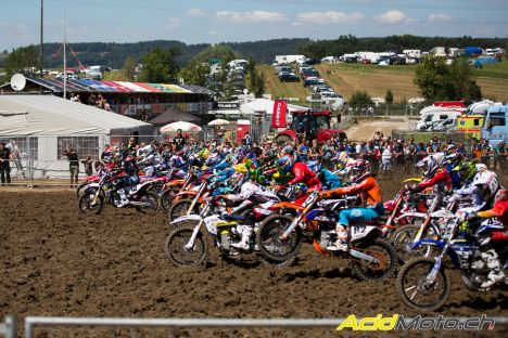 MXGP of Switzerland 2016 start race 1