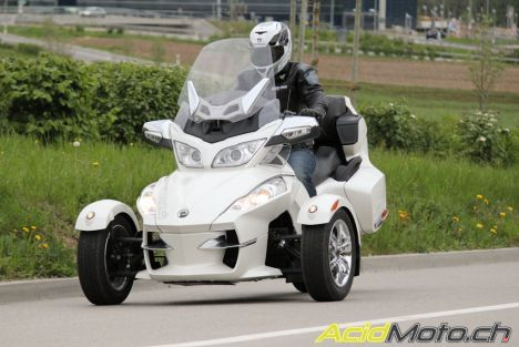Can-Am Spyder RT Ltd, et si l'on tentait l'originalité !