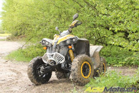 Can-Am Renegade 1000, les Canadiens enfoncent le clou !