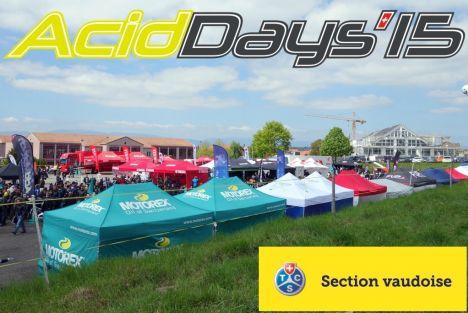 Les Acid'Days, le week-end d'essais moto et scooter, c'est les 9 et 10 mai prochains !