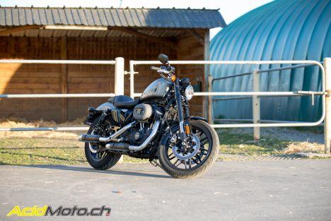 Essai Harley-Davidson Roadster 1200 - La Harley Sportster qui penche