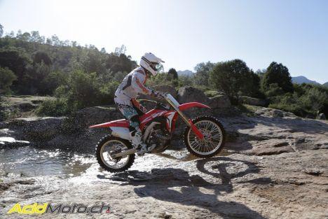 Essai Honda CRF450R et CRF450RX – Opération Holeshot