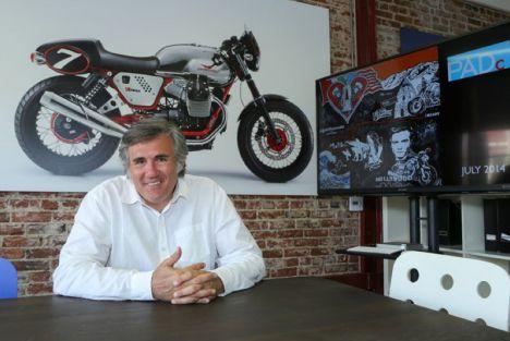 """Interview de Miguel Galluzzi, designer Moto-Guzzi : """"Les motos doivent avoir une âme"""""""