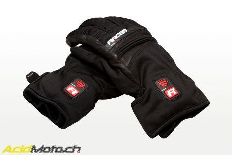 Essai gants chauffants – Racer Connectic Short : les mains au chaud, même en plein froid