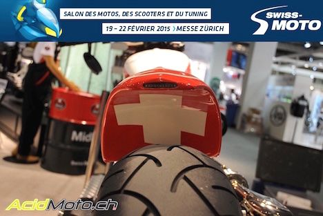 Salon Swiss-Moto 2015 - La rédaction en visite au salon de la moto - Vidéo et photos