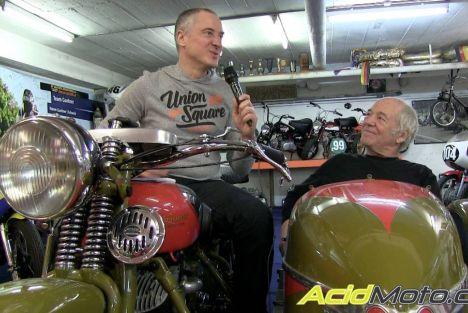 Interview Eric Bezon – Un chouette gars avec plein de motos et de belles histoires dans sa sacoche