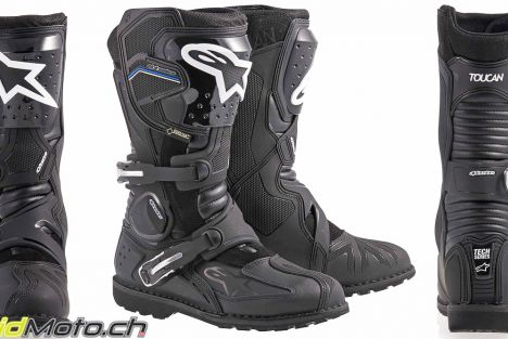 Essai des bottes Alpinestars Toucan GTX