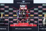 WSBK à Portimão - Course 2 - Rea persiste et signe une seconde victoire
