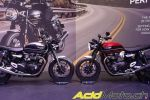 La Triumph Bonneville Speed Twin 1200 2019 s'affiche