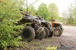 Une journée avec le Jurassic Quad Club, à fond dans la boue!