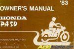 Honda PA 50 S, l'essence même de la sportivité !