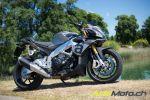 Essai de l'Aprilia Tuono V4 1100 RR - La même, ou presque, en mieux encore !