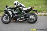 Essai sur route de la Kawasaki Ninja H2 - Quel monstre !
