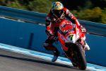 Pour Chaz Davies, le Père Noël est bien rouge mais s'appelle Ducati