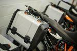 Bagagerie de la gamme KTM Adventure - Nouvelle fixation flottante pour plus de maniabilité