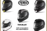 Voici le nouveau casque sport-touring de Premier, le Touran !