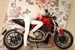 Arrow donne de la voix aux Ducati Monster 821 et 1200 avec le silencieux Jet-Race