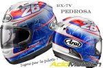 Concours - A gagner un casque Arai RX-7V dédicacé par Dani Pedrosa