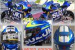 Casque Shoei GT-Air Suzuki GP Edition - Aux couleurs de l'écurie de compétition